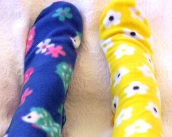 Women's Warm Fleece Socks, Hedgehog Socks, Boot Socks, Bed Socks, Fleece Socks, Colorful Warm Socks, Ladies Socks, Senior Citizen Gift