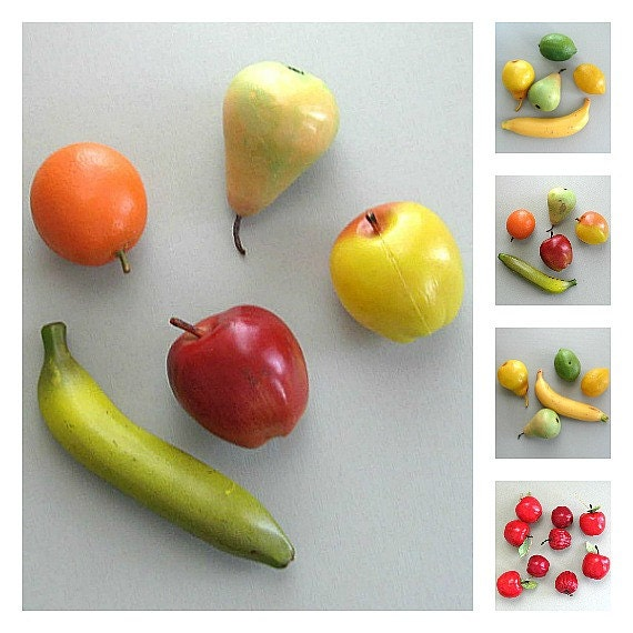 Craft fruit supplies apple fruit decor banana orange fruit for Fruit orange decoration
