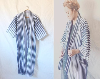 Vintage Kimono Duster Jacket