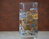 Happiness Hotel  Glass/The Great Muppet Caper McDonald's Glassware/Collectors Glass/Drinking Glass/1981