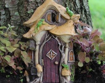 Leap Frog Fairy Door for the Fairy Garden