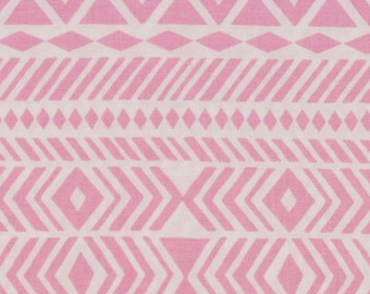 Pink Tribal Fabric | Wander Tribe Pink Fabric