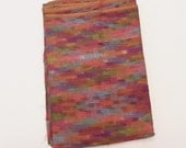 Multi color Cotton Fabric material, 144 x 60 inches, material cloth for projects