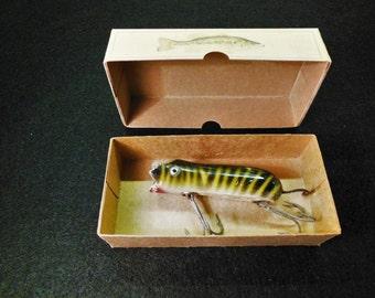 Lake house cabin lodge fishing lure box decorations