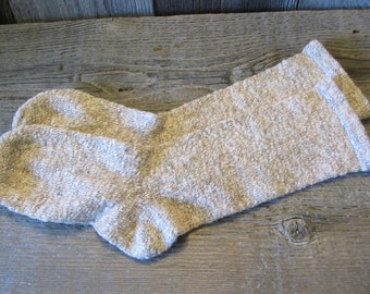 Thick Cotton/Wool Hand Cranked Diabetic Socks Women's 7-11 shoe size