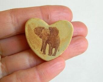 Magnet - Elephant Heart - Enkikwei