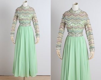 vintage 1960s dress . vintage party dress . 5221