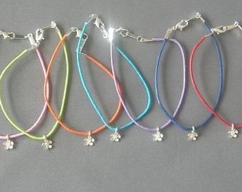 Flower Bracelet Trio