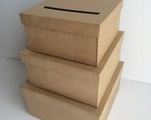 DIY Wedding Card Box, Wedding Card Holder, Gift Card Holder
