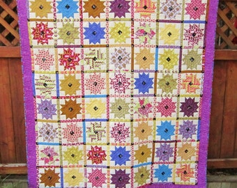 Many Colors Crown Quilt