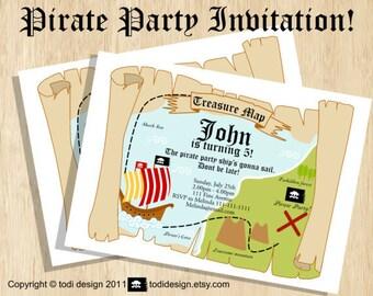 Birthday party invitation - Lego Bricks inspired Birthday Party Invitation - Printable digital file