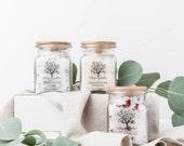 Natural Bath Salt - Lavender, Lemongrass, or Rose - 8 oz