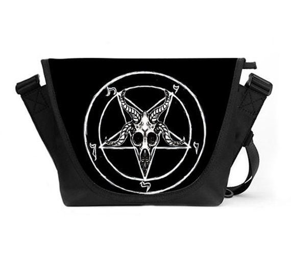 Team Satan Messenger Bag