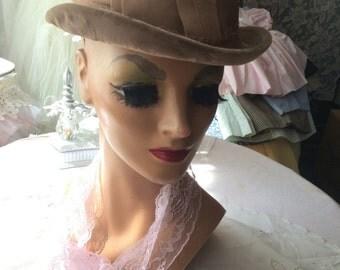 Cute Little Velvet Hat