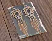 Bohemian Fringe Earrings