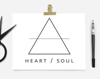 Pre-made Logo - Triangle Logo - Geometric Logo - Minimal Logo - Custom Business Logo Design