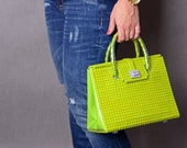 Brick Bag 25cm in lime