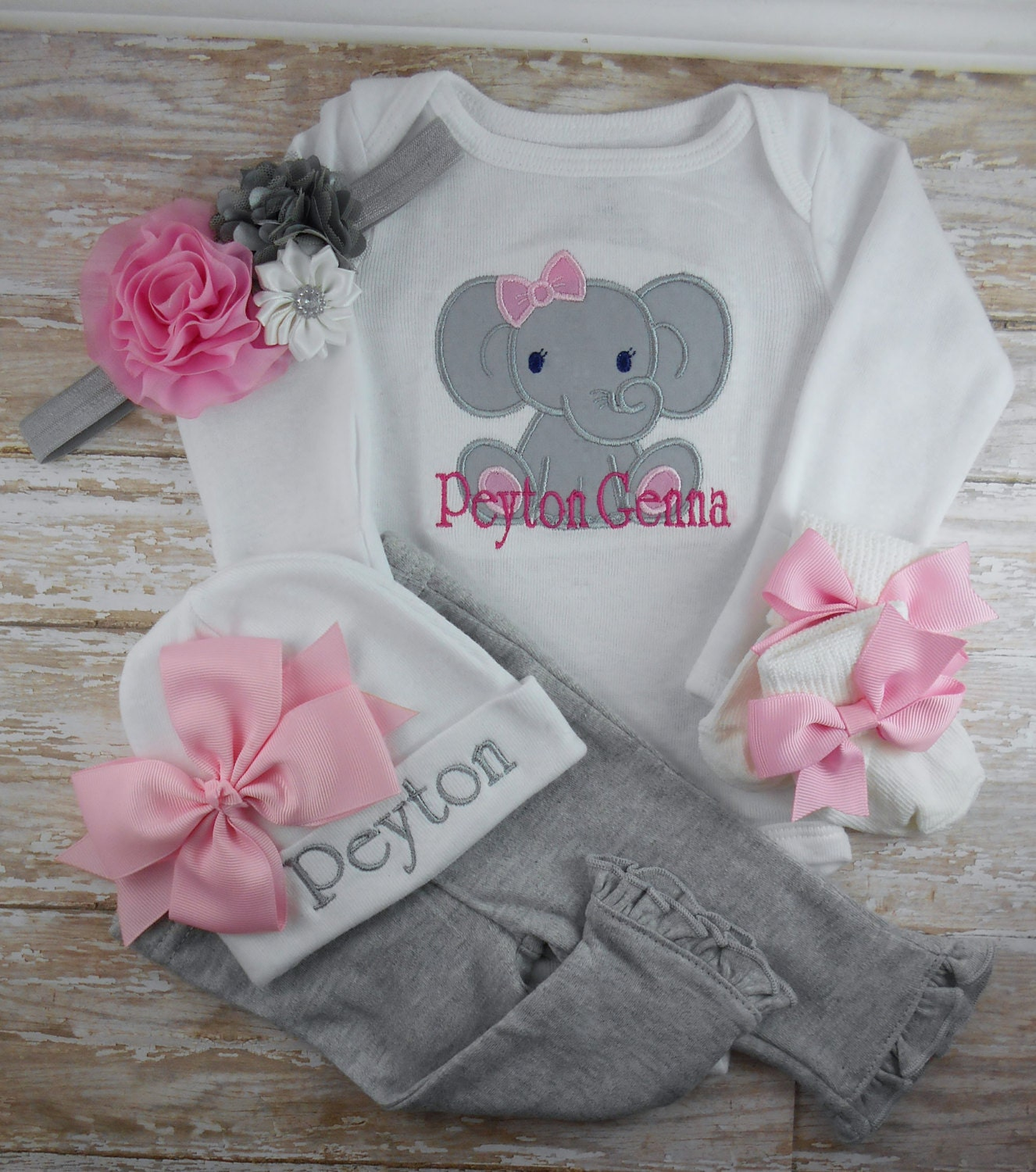 b3acae8b9 Product Features shower gift or take home outfit from the hospital for your  baby girl. 25 Adorable Outfits For Baby's ...