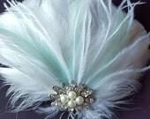 Wedding Accessories, Hair Accessories, Bridal Hair Clip, Feather Hair Clip, Fascinator, Bridal Fascinator, Wedding Hair Clip, Wedding Comb
