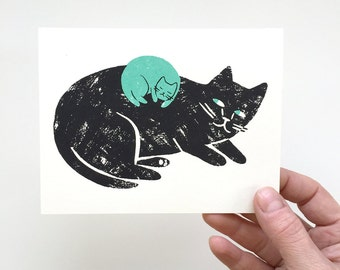 New Baby - Screen Printed Card