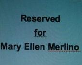 SPECIAL ORDER - Mary Ellen Merlino