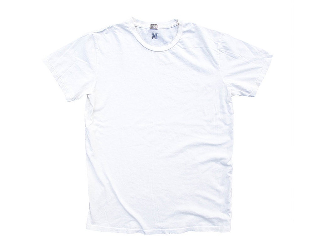 QMC Roughed Up Tee - Off White - 100% Cotton Jersey T-Shirt