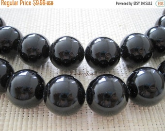 "20% OFF ON SALE Onyx Round 20mm, 8"" long, 10 pieces"