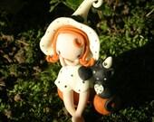 Glow-in-the-dark Fairy Witch figurine