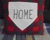 Buffalo Check Home Plate Pillow