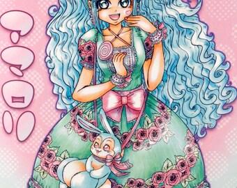 SERIES 2 - Lolita Fashion - Sweet Lolita - Poster Print