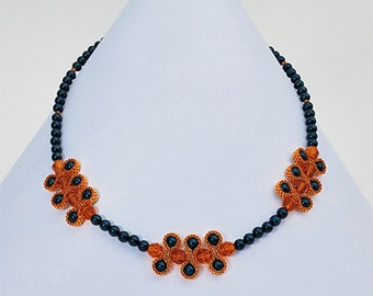 Beaded Castanets Necklace