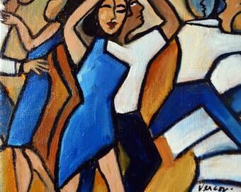 La Danse Bleu