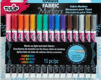 Tulip Fabric Markers - Color Me - 15 Colors