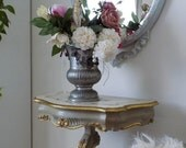 reserved for S. Pair of Venetian style nightstand side tables