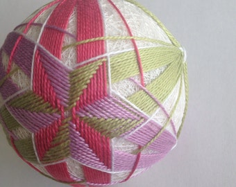 Tropical Star Temari II- Temari Ball