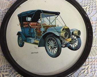 Metal Car  Tray  1909 Welch