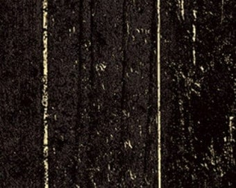 Black Barnwood - Jeepers Creepers from Clothworks - Full or Half Yard Black Barn Wood Halloween