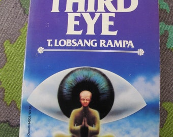 THIRD EYE Rampa mystical discovery OCCULt book spirit astral Psychic power