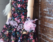 Night Flowers mesh dress for YoSD