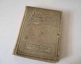 1890s  Cyr's 3rd Reader 1896 The Children's Third Reader by Ellen Cyr Textbook Children's Book