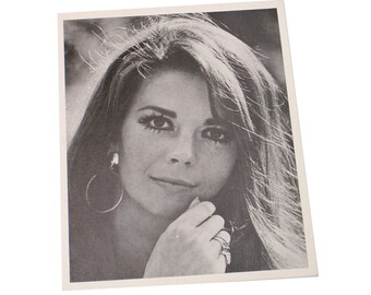 Natalie Wood American Actress TV Star Hollywood Promo Photo Studio Copy for Fans