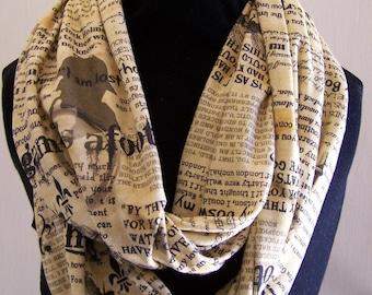 Sherlock Holmes Knit Infinity Scarf