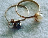 Pearl stackable rings