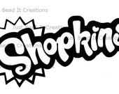 Shopkins Logo Sticker