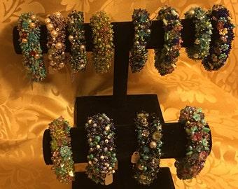 Hand-Woven fringe bracelets