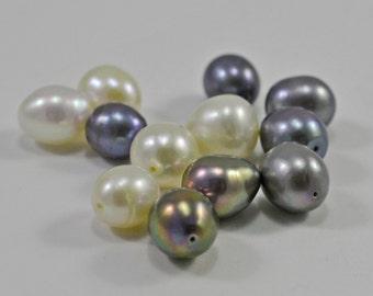 Potato pearls - mixed colors - 8mm - #1563