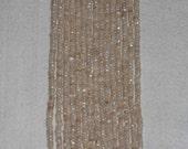 AB, AB Moonstone, Faceted Rondelle, Moonstone Rondelle, Semi Precious, Natural Stone, Gemstone Rondelle, Gemstone Bead, Strand, 4mm