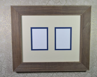 Picture Frame and ACEO Photo Mat - 8 x 10 Frame - Two Window ACEO Mat
