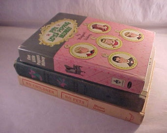 3 Young Adult Books 1950s 1960s Childrens Books