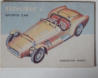 1950 Topp Sport Car Trading Card